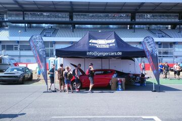6x4m QUICKUPTENT Promotionstand