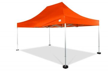 6x4m QUICKUPTENT ALU-HEXAGON-Faltzelt