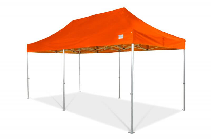 6x3m QUICKUPTENT ALU-HEXAGON-Faltzelt