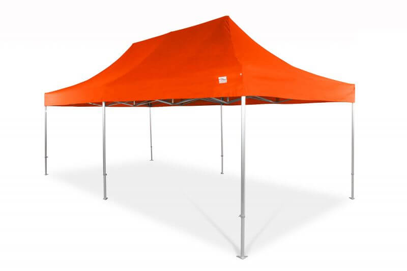 8x4m QUICKUPTENT ALU-HEXAGON-Faltzelt
