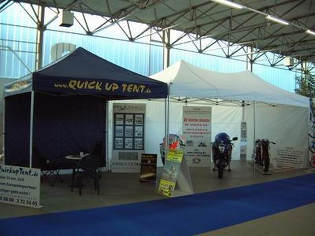 3x3m QUICKUPTENT Messestand